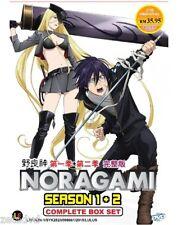 Anime DVD NORAGAMI ( SEASON 1+2 ) ENGLISH SUBTITLE + FREE SHIPPING
