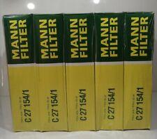 5x Mann C27154/1 Air Filter Element Flat 56mm H 268mm L 228mm W Joblot
