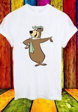 Yogi Bear Cartoon Character Boo-Boo Cindy Ranger Men Women Unisex T-shirt 704
