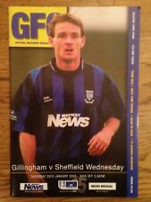 Gillingham v Sheffield Wednesday - FA Cup 5th Rd Programme - 29th January 2000
