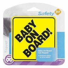 SAFETY 1ST Baby On Board Sign Suction Cup *New