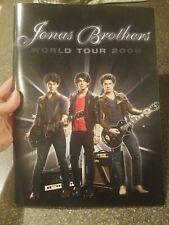 JONAS BROTHERS 2009 World Tour Concert Souvenir Book