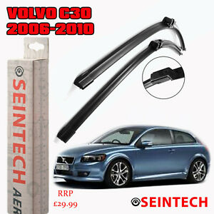 VOLVO C30 2006-2010 SPECIFIC FIT FRONT AND REAR WIPER BLADES + PLASTIC ARM