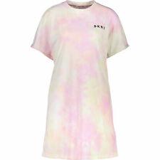 DKNY Sport Designer Pink Tie Dye LOGO Mini Dress Sz: XS, S, M, L, new