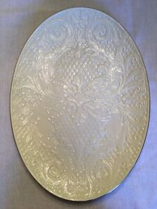 Lenox Oval Platter, Dolphin Collection, 24K Gold Trim