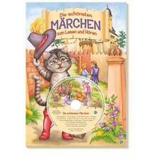 Libro para niños de cuentos Geschichten la schönsten hadas a lesen y escuchar CD