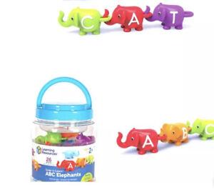 Learning Resources Snap-n-Learn ABC Elephants, Educational Toys, Alphabet Ele...