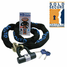 Oxford HD Chain 1mtr And Lock Sold Secure