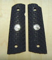 1911 grips COLT black Duragrips  textured polymer full size government clones