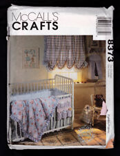 McCall's Pattern baby room - curtains, hamper, bumpers, caddy, more - 1998