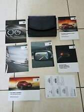 15 2015 BMW 228i 235i M Power COUPE OWNERS MANUAL NAVIGATION MANUAL & CASE MINT