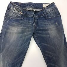 Diesel MATIC-K Womens Jeans W30 L30 Blue Regular Fit Tapered Low Rise