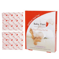 Baby Foot Exfoliant peel Foot Mask Lavender Scented Soft Smooth 2.4FL OZ