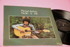 MICHAEL JACKSON LP MUSIC AND ME ORIG UK 1973 EX TOP RARE !!!!!! TEXTURED COVER
