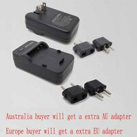 Wall Travl Home Battery Charger For SONY NP-BG1 DSC-W85 DSC-W90 DSC-W100 DSC-H7