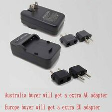 Wall Travl Home Battery Charger For sony NP-BN1 DSC-W570 W570D W530 W520 W510