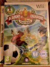 Nuevo Y En Caja ~ Nintendo Wii ~ Academia De Campeones: juego de fútbol fabricante sellada {}
