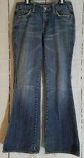 7 for all Mankind Jeans A Pocket Size 27 Flare leg inseam 31""
