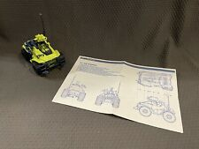 G.I. Joe Arah - 1991 Badger - 100% Complete with Blueprints
