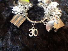 Celebrate Your 30 pound Weight Loss with #30 Charm for Weight Watchers Keychain!