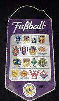 RAR Orig. Wimpel DDR Bezirksliga Dresden 1986/87 Riesa Oberliga Fussball Zittau