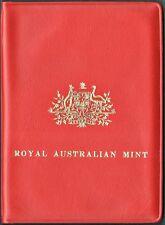 AUSTRALIA 1971 6 PC. UNCIRCULATED SET IN ORIGINAL VINYL WALLET (KM# MS4)