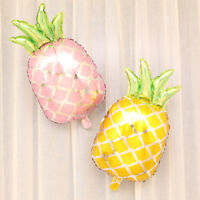 5pcs Funny Fruit Pineapple Foil Balloons Hawaiian Luau Tropical Party Supplier