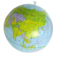 1X(Inflatable Toy Globe Tellurion Training Geography Map Balloon Water Ball D1D2