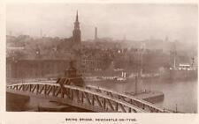 Swing Bridge Newcastle on upon Tyne RP pc  used 1917 WHS & SN