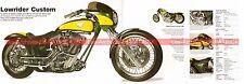 HARLEY DAVIDSON FXRSS 1340 Lowrider Custom 1995 Fiche Moto 000518