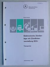 Mercedes-benz Transporter eléctrico. encendido con zündlinienverstellung, 4.1993