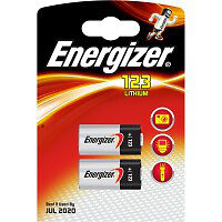 Energizer Cr123 Lithium Battery (pack of 2)