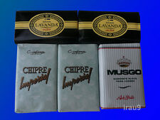 5 Soaps Confianca & Ach Brito 2 Lavander 2 Chipre Imperial 1 Musgo Real