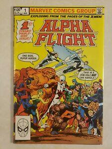 alpha flight #1 key 🔑 book