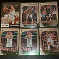 2019-20 panini NBA HOOPS ANTETOKOUNMPO #102 lopez BUCKS 6 card lot