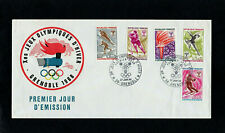 FRANCE 1968 - GRENOBLE WINTER OLYMPIC GAMES - FIRST DAY COVER - SPECIAL POSTMARK