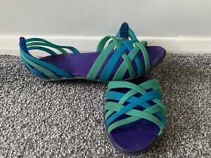 Crocs Huarache Flat Open Toe Sandals size 8 US 10