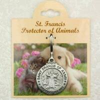 Saint Francis of Assisi Protect My Pet Medal