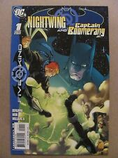 Outsiders Five of a Kind Nightwing and Captain Boomerang Jr #1 DC 2007 - 9.6 NM+