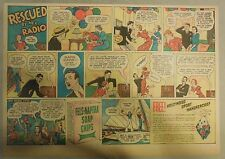 Fels-Naptha Soap Ad: Rescued By Radio! from 1930's with Hollywood Hankey