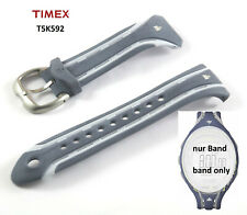 Timex Replacement Band T5K592 Ironman 250 Lap Sleek - 1 1/32in Spare Silicone