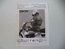 advertising Pubblicità 1977 MOTO DKW CROSS