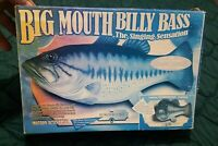 Big Mouth Billy Bass The Singing Fish 1999 GEMMY Industries Tested And Working