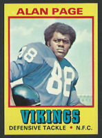 1974 Topps Wonder Bread #17 ALAN PAGE Minnesota Vikings 99% CENTERED - AP06