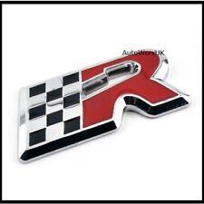CUPRA R badge SEAT Leon Ibiza Cordoba Altea Chrome Noir Rouge Emblème Autocollant 52