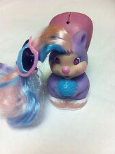 Vintage Keypers Squirrel Coin Piggy Bank w/ acorn hairclip Safe Purse Tonka vtg