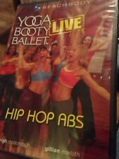 Yoga Booty Ballet Live Hip Hop Abs DVD Fitness New