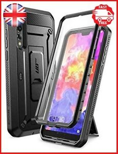 SUPCASE Huawei P20 Pro Case, Full-Body Rugged Holster Cover with Built-In Screen