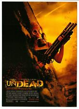 8 UNDEAD Post Cards zombie movie The Spierig Brothers Daybreakers directors