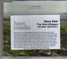 (CL697) Geva Alon, The Wind Whispers - 2011 DJ CD